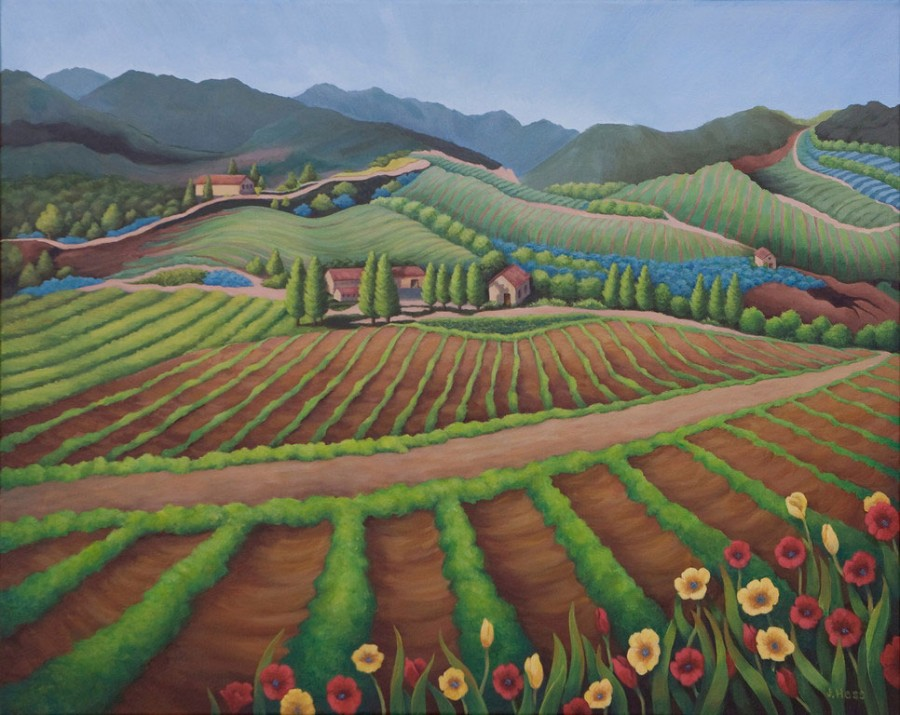 Tuscan Lines and Rows
